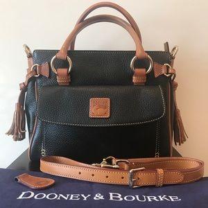 Dooney & Bourke Pebble Leather Satchel